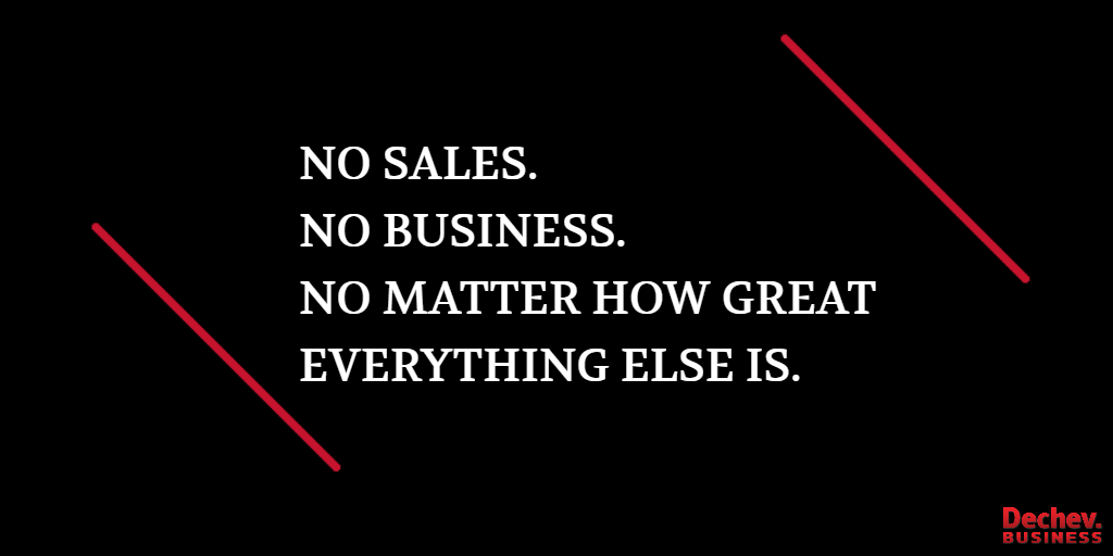 Sales. Business. Growth.
